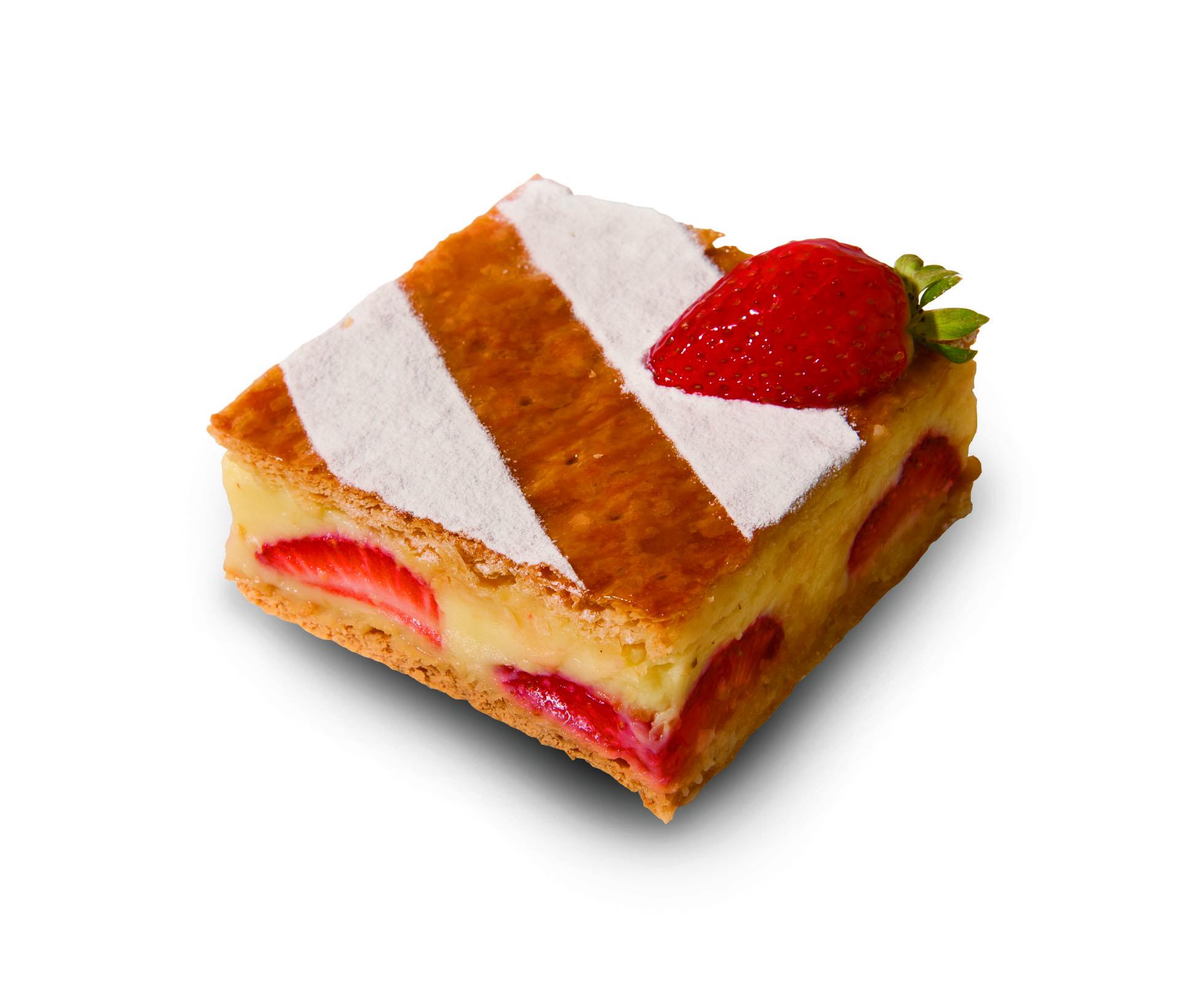 草莓千層派 Strawberry Millefeuille
