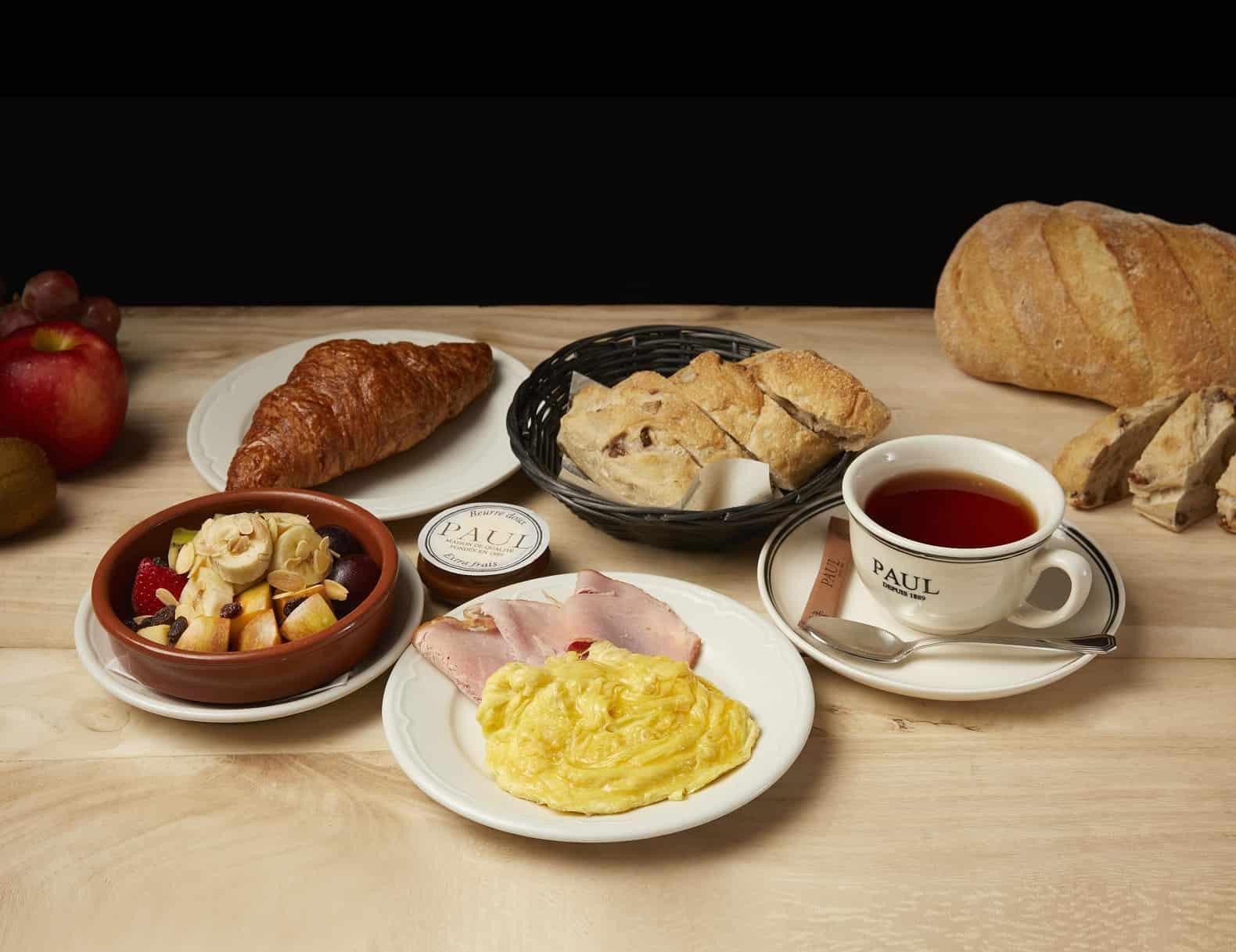 巴黎人豪華早餐自由選 Parisian Luxurious Breakfast Set