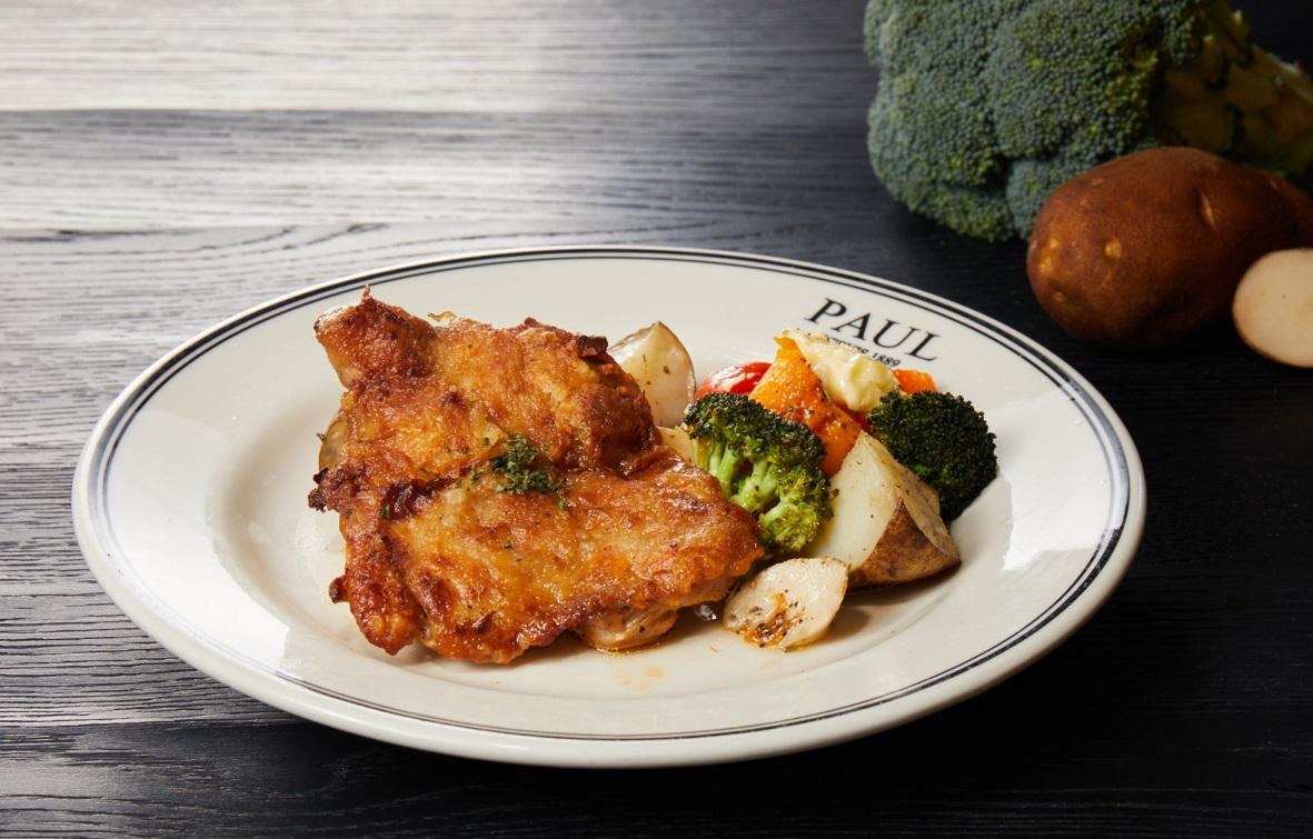 瓦倫索香料煎雞腿排 Pan-Fried Chicken Thigh with Valensole Spices