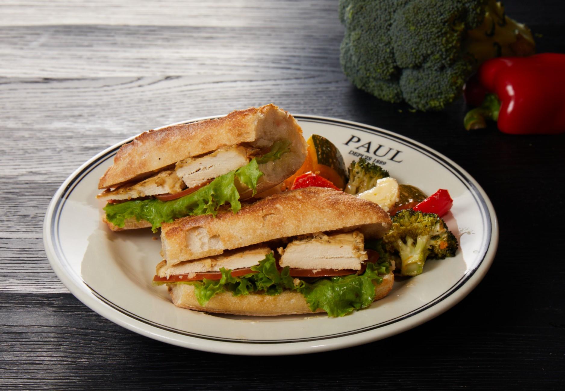第戎春雞三明治 Chicken Sandwich