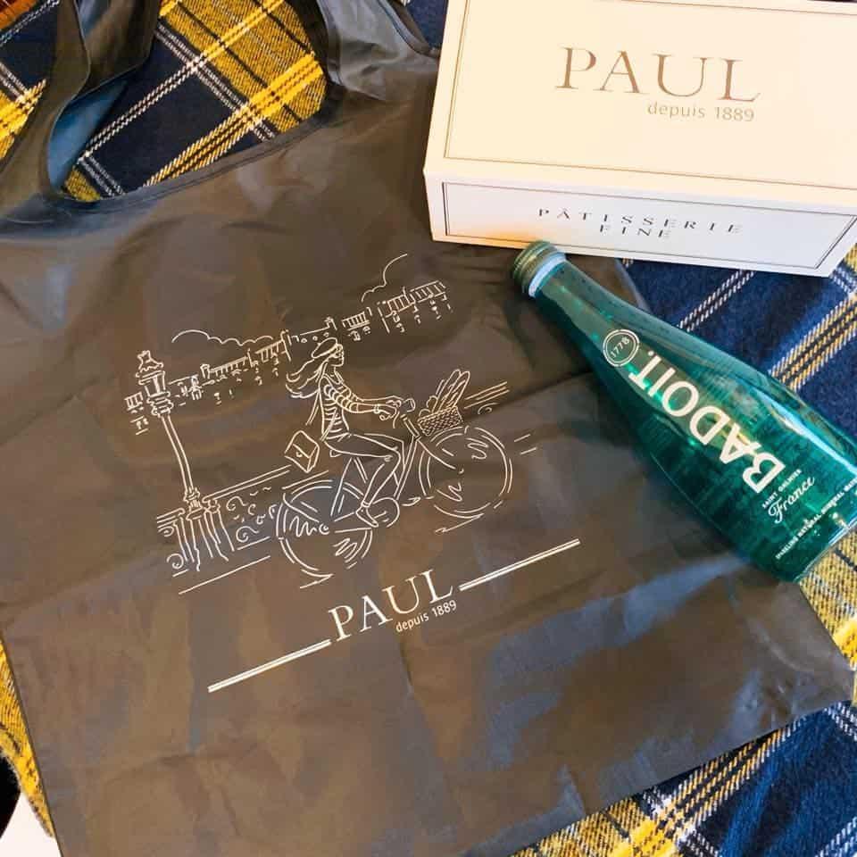PAUL巴黎小旅行隨身摺疊袋  Foldable Reusable Bag