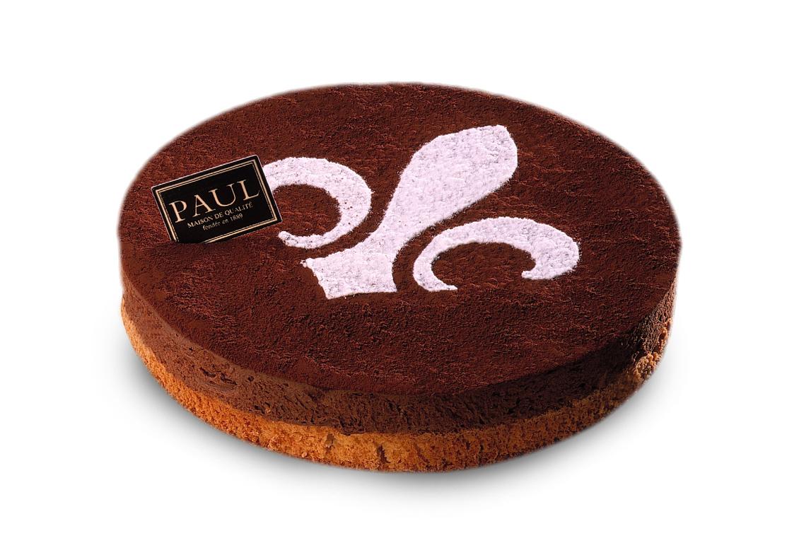 鳶尾花巧克力(整份) Chocolate Mousse Cake (7 inches)