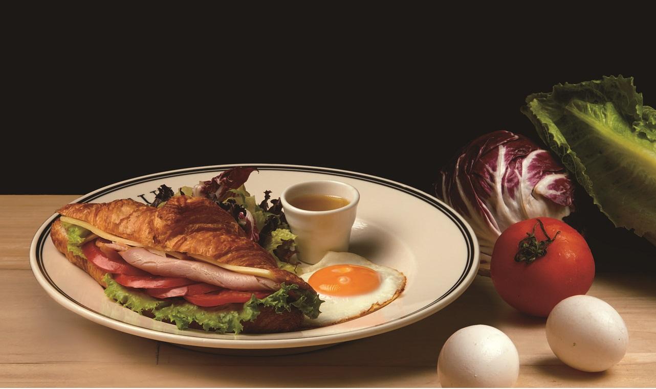 巴黎火腿乳酪瘋可頌 Croissant with Ham Cheese