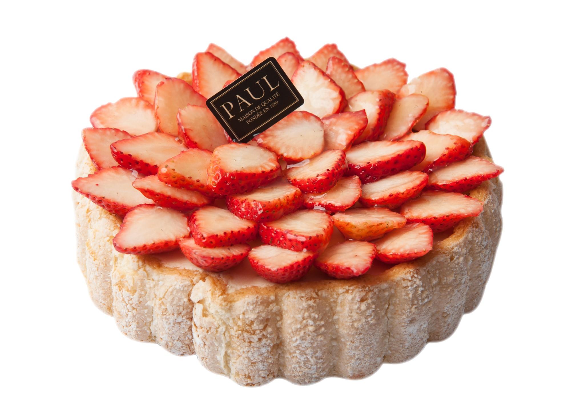 草莓夏洛特(整份) Strawberry Charlotte (7 inches)