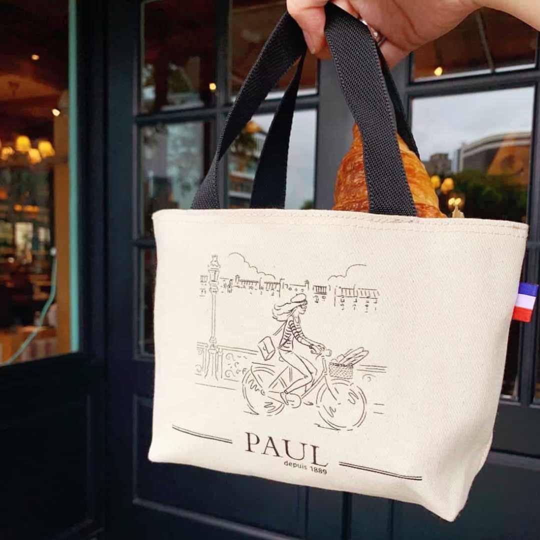 PAUL巴黎小旅行提袋 Cotton Bag
