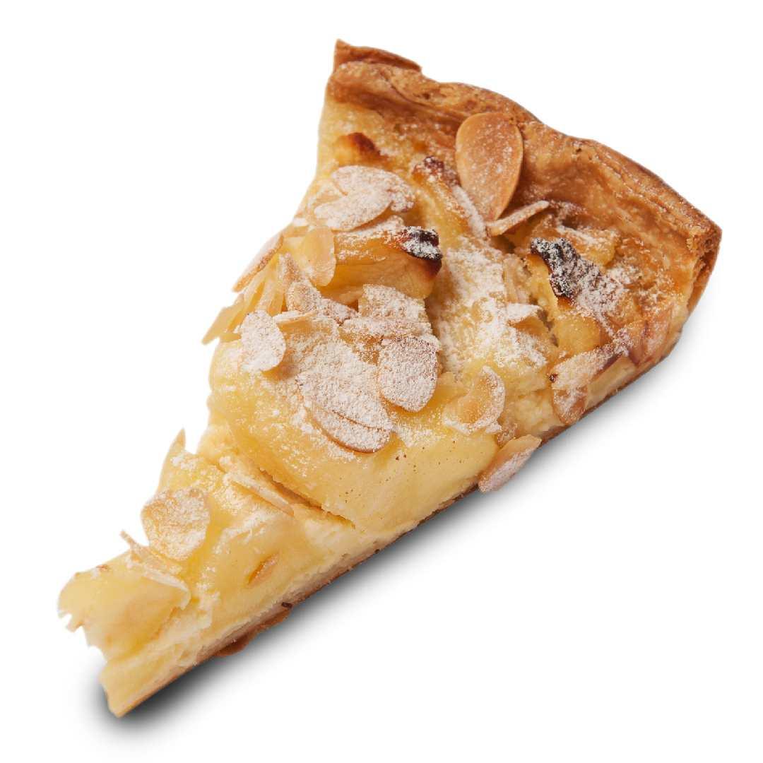 諾曼第蘋果芙朗塔 Apple and Almond Tart